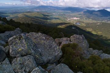 krajobraz góry widok natura przyroda drzewa rośliny