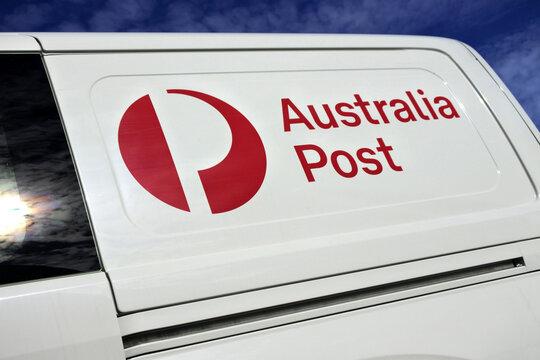 Australia Post vehicle.