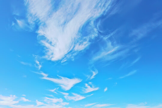 blue sky clouds background abstract skyline landscape nature paradise air