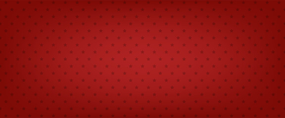 Fototapeta Red star vector background. American banner. Patriotic pattern obraz