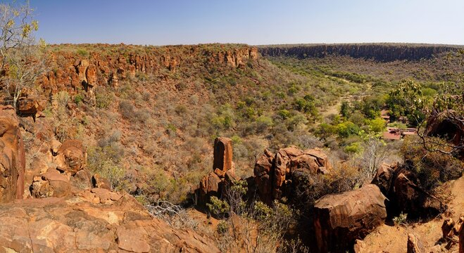 Top of Waterberg Plateau National Park, Namibia