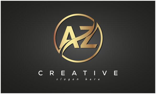 AZ creative luxury logo design