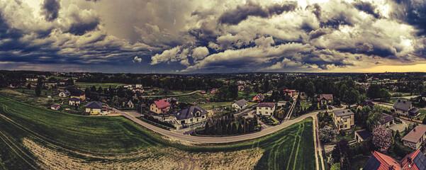 chmury burzowe nad Górnym Śląskiem, Jastrzębie Zdrój