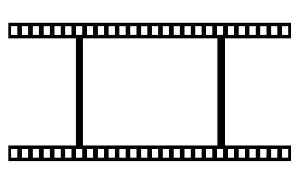 1コマのフィルムのイラスト