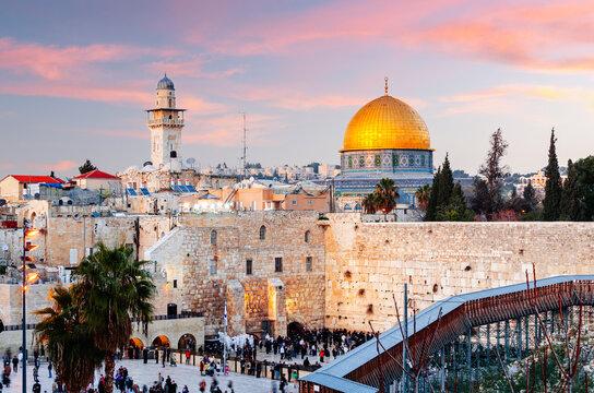 Old Jerusalem, Israel at Dusk