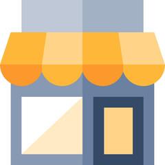Fototapeta sklep wizualizacja  obraz