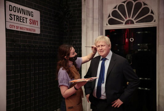Wax musuem Madame Tussauds London prepares to reopen to the public