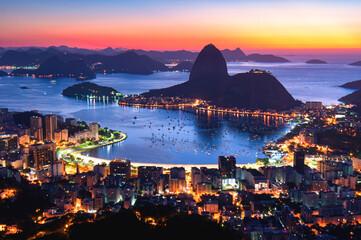 Rio de Janeiro (Night Skyline)