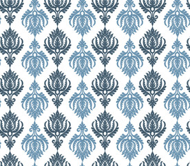 seamless damask pattern
