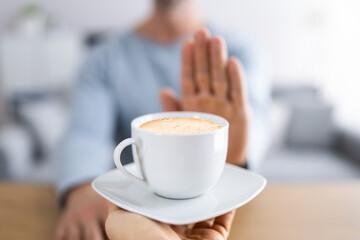 Obraz Avoid Coffee. Male - fototapety do salonu