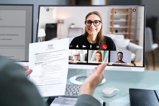 Virtual Job Interview Webcast