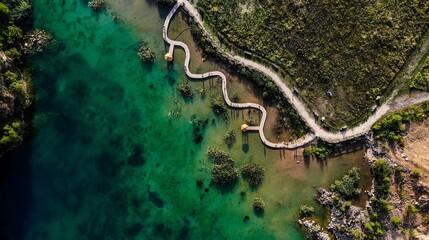 Jaworzno Gródek jezioro - fototapety na wymiar