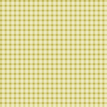 Yellow Gingham pattern