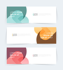 Vector abstract graphic design Banner Pattern background web template.  - fototapety na wymiar