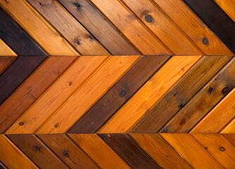 Fototapeta Parquet floor. Repeated texture of the parquet. obraz