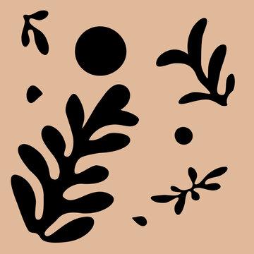 Matisse inspired leaves