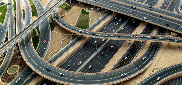 Traffic highway car road