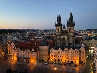 Prague, Old Town Square at Night