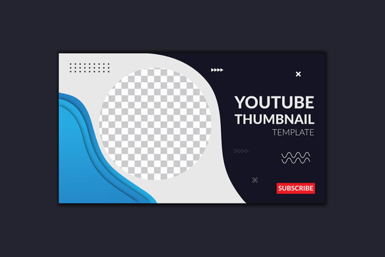 Youtube Thumbnail Template and Web Banner