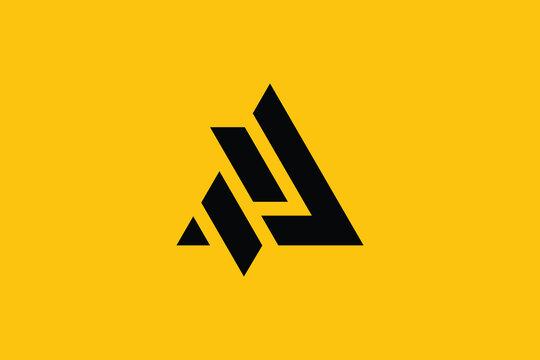 AZ logo letter design on luxury background. ZA logo monogram initials letter concept. AZ icon logo design. ZA elegant and Professional letter icon design on background. AZ ZA