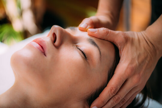 Craniosacral Therapy Head Massage for Pain and Migraine Relief.