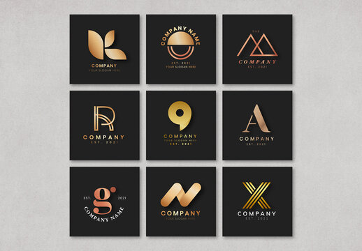 Luxury Business Logo Collection