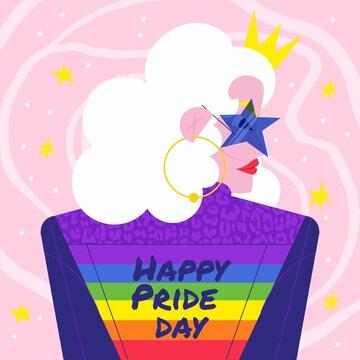 Organic Flat Pride Day Illustration_12