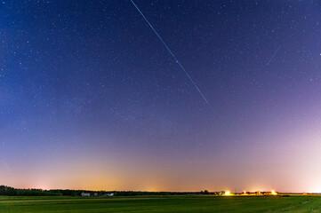 Spadające gwiazdy  - fototapety na wymiar