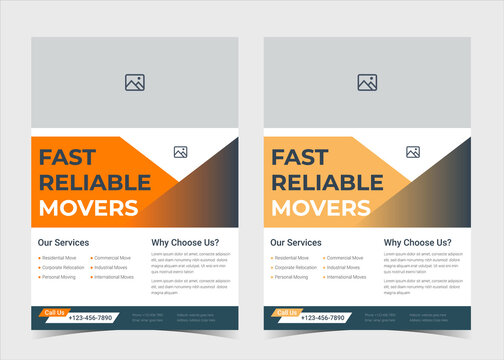 We are moving flyer template. House shifting services poster template. House shifting agency flyer poster template. Fast reliable movers flyer template. Trusted moving experts service flyer template d