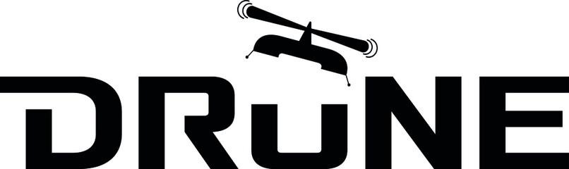 Drone logo icon idea