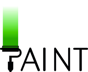 Painter logo business icon