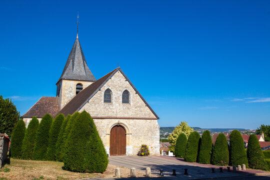 église de saint marcel, Eure, Normandie