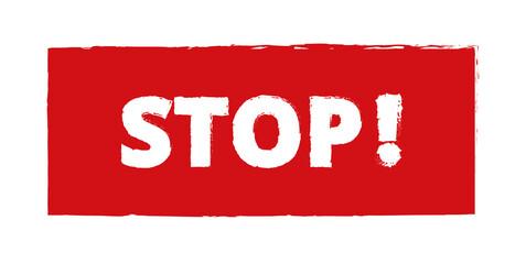 Obraz STOP - fototapety do salonu