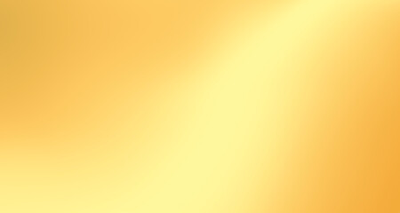 Gold gradient blurred background with soft glowing backdrop, background texture for design