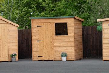 Fototapeta wooden shed obraz