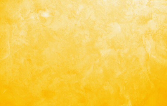 Yellow wall abstract background texture