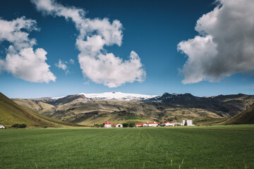Eyjafjallajökull, Islandia - fototapety na wymiar
