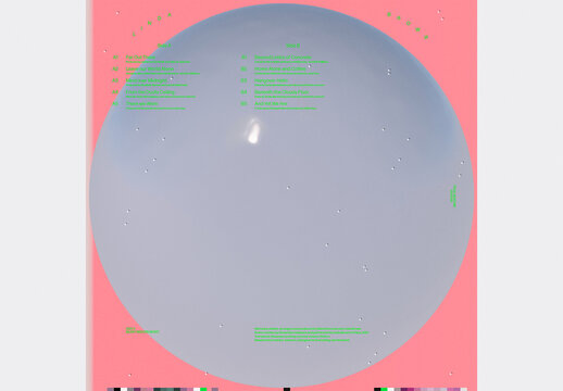 Minimal Bubble Electronic Album Cover and Social Media Post