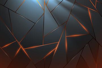 Obraz abstract_metal_mosaic - fototapety do salonu