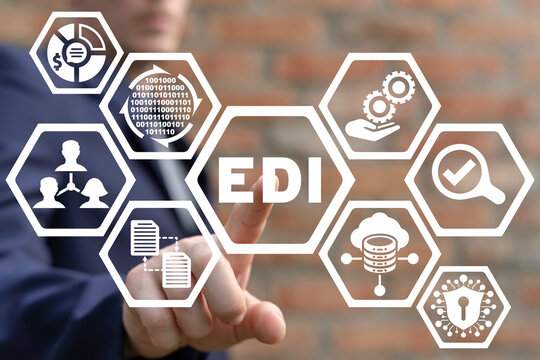Concept of Electronic Data Interchange. EDI Technology.