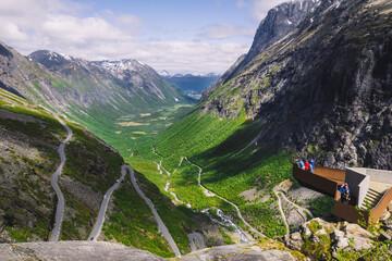 Norwegia - fototapety na wymiar