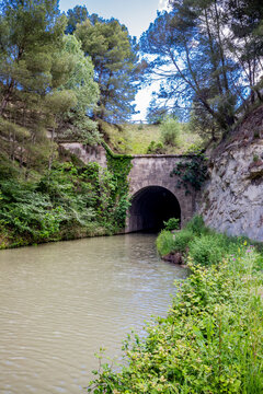Le Tunnel de Malpas du Canal du Midi
