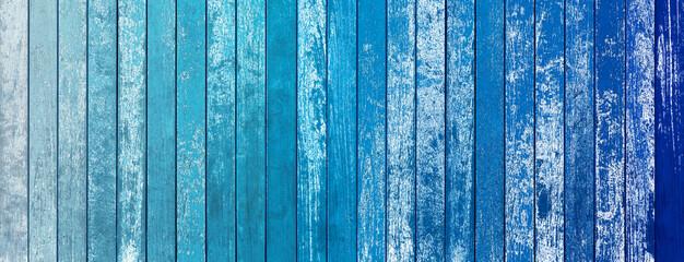 Obraz Fond bois bleu vintage - fototapety do salonu