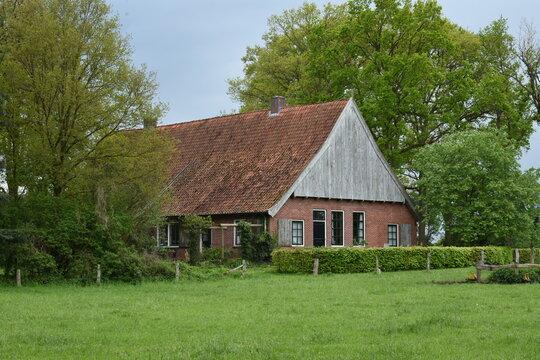 old farm house near the village of Denekamp in Twente