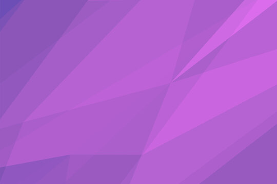 Violet abstract low-poly banner. Vector 3D design template. Geometric elegant background.