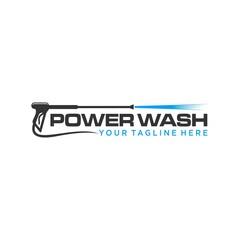 Obraz pressure wash logo template - fototapety do salonu