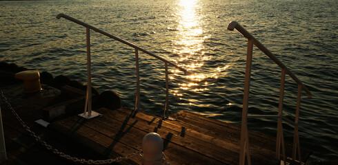 pomost do morza