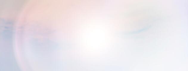 Obraz sun sky flare background top, sunlight clouds abstract - fototapety do salonu