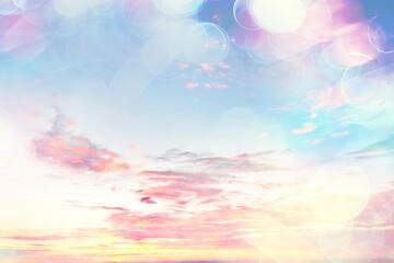 sunrise sky watercolor gradient colors, beautiful abstract nature wallpaper