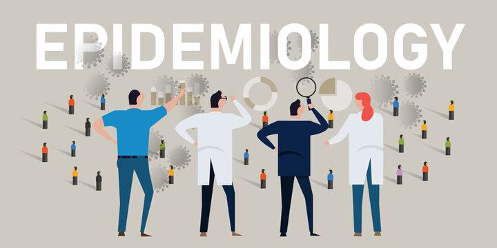 epidemiology epidemiologist scientist analyze data on covid-19 corona virus pandemic